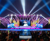Commercial LED Screens Indoor LED Billboard P4.81 Rental LED Panel 1920Hz cabinet 500x1000mm